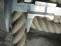 Джутовая веревка 18 мм. Бухта-50 м. 9.00 грн.