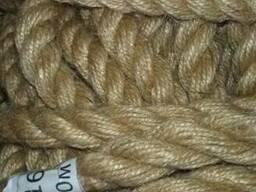 Джутовая веревка 10 мм -100 метров