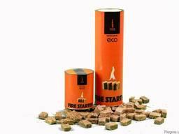ЭКО розжиг для костра, камина, котла - 100 шт
