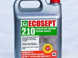 Экосепт-210 для удаления остатков цементных растворов