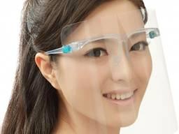Экран защитный для лица пластиковый Face Shield