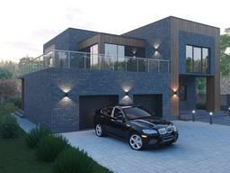 Эксизный проект дома (дизайн экстерьера)