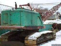Экскаватор болотный ЭО 3211, 1989г. в. , ковш 0, 8м3, восьми ка