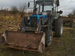Екскаватор на базі трактора МТЗ-82