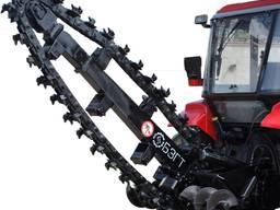Экскаваторное оборудование ЭЦ-1800 (траншеекопатель)