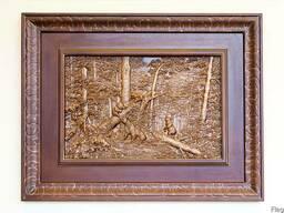 Эксклюзивная картина«Утро в сосновом лесу»