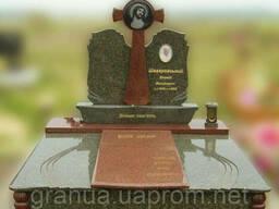 Эксклюзивный двойной гранитный надгробный памятник Модель. ..