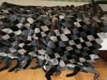 Эксклюзивные покрывала из натурального меха норки - фото 1