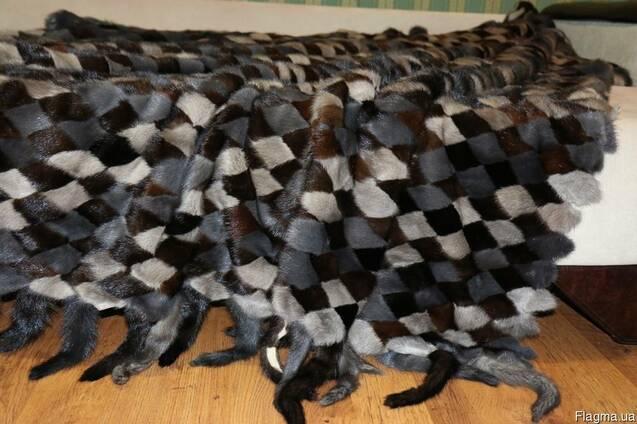Эксклюзивные покрывала из натурального меха норки