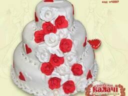 Эксклюзивные свадебные торты Чернигов