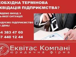 Експрес ліквідація юридичної особи Київ. Допомога у ліквідац