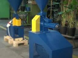 Экструдер зерновой шнековый КЭШ-4 (380В, 15кВт, 150 кг/час)