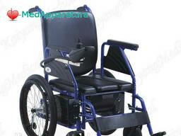 Электрическая Инвалидная коляска с туалетным стулом. ..
