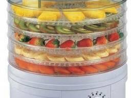 Электрическая сушилка фруктов и овощей с терморегулятором