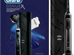 Электрическая зубная щетка Braun Oral-B Genius X-D706-513-6X Midnight черная
