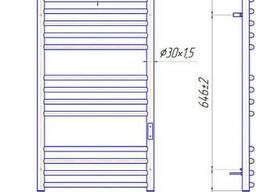 Электрический полотенцесушитель Феникс-I 830x500/100 TR таймер-регулятор