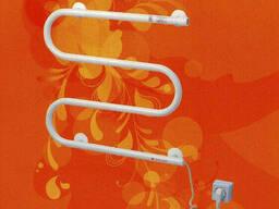 Электрический полотенцесушитель Змейка хром