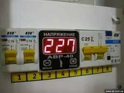 Электрик. защита от перепадов напряжения. донецк - фото 1