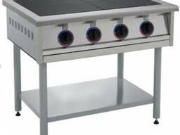 Электро-плита промышленная ПЕ-4 В профессиональная