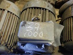 Электродвигатель 37 на 1000