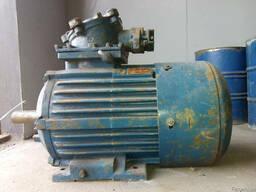 Электродвигатель взрывозащищенный 2В160S4 15 квт 1500 об/мин