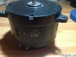 Электродвигатель Д-16-0, 6 20Вт 550об. 27В постоянного тока