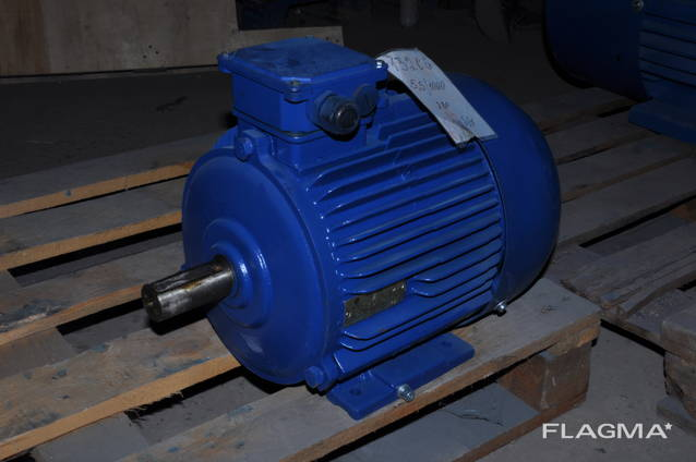 Электродвигатель Електродвигун АИР132S6 5,5квт 1000об. 4АМ13