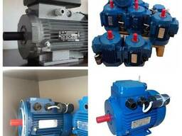 Однофазный электродвигатель 4 квт, 3 квт, 2. 2 квт, 1. 5к. 220В