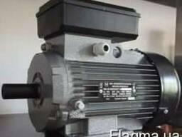 Однофазный электродвигатель 2,2 кВт 3000 об 220В об АИР1Е80С