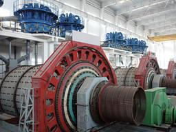 Электродвигатель рудничной шаровой мельницы
