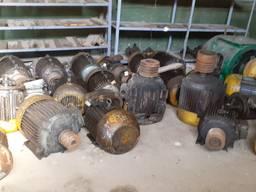 Перемотка, ремонт электродвигателей