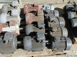 Электродвигатели демонтаж самовывоз оплата 100% Дорого