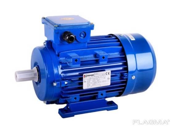 Електродвигун трьохфазний MS2 160L-6 B14 В3 В5 11 кВт 1000об/хв