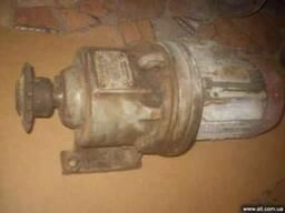 Електродвигун з редуктором до бетонозмішувача 0,25 м.куб.