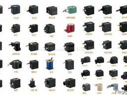 Електромагнітні катушки (соленоїд) гідророзподільника 12-24V