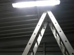 Электромонтажные работы промышленного и бытового освещения