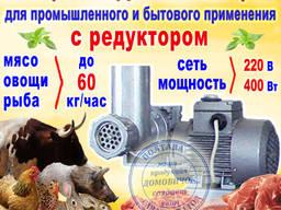"""Электромясорубка с редуктором ЕМ-1 """"Мрия"""""""