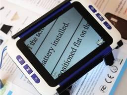 """Электронная цифровая лупа для чтения 2Х-32X с экраном 3,5"""" портативное устройство"""