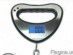 Электронные весы кантер electronic portable scale blue backl