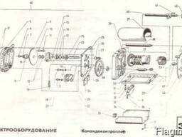 Электрооборудование. Командоконтроллер.