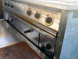 Електроплита підлогова з духовкою