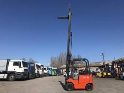 Электропогрузчик NYC с мачтой триплекс 5. 5 метров