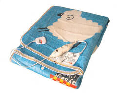 Электропростынь Electric blanket 5733 145х115 см, голубая. ..