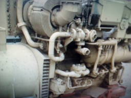 Электростанция 500 кВа производства SKL, без эксплуатации