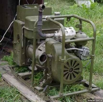 Электростаниця дизельная АД-10Т/230 (осветительная