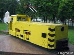 Электровоз контактный шахтный К-10