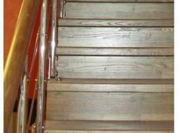 Элементы лестниц. Подступенки из массива.