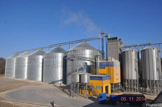 Элеватор, зерносушилка, зернохранилище, пневмотранспортер зе