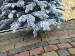 """Елка искусственная литая в снегу """"Элитная"""" пышная густая, 180 см, с подставкой, в коробке"""
