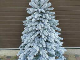 """Елка искусственная литая в снегу """"Элитная"""" пышная густая, 150 см, с подставкой, в коробке"""
